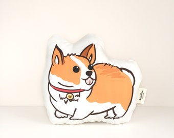 Corgi Pillow | Corgi | Welsh Corgi | Handmade Pillow | Dog Pillow | Pet Pillow | Dog Plush | Corgi Pillow | Cute Pillow | Stuffie