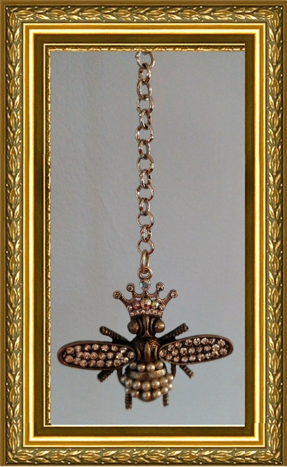 Bee Ceiling Fan Pull Chain Home Decor Bling Queen Bee