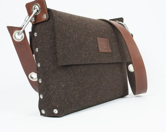 Mens Messenger Bag Mens satchel bag / Messenger bag for men /