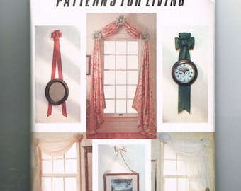 Curtain Sewing Pattern, Bows Sewing Pattern, Window Treatments, Wall Hanging Bows, Cutting Curtains, Susanna Stratton-Norris, Vogue 7930
