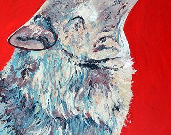 limited edition 11x14 wolf print, wolf, wolf art, cabin art, fine art, giclee, animal art, coyote, livingroom art, wall art, nursery, lobo