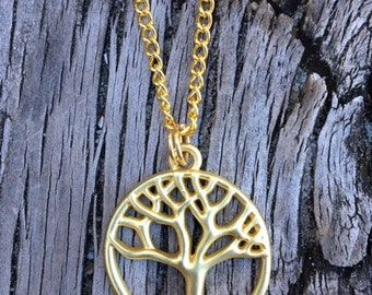 Tree of Life Necklace.   GC0137