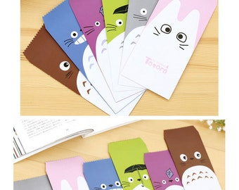 Totoro Colourful and Cute Envelopes Pack of 5