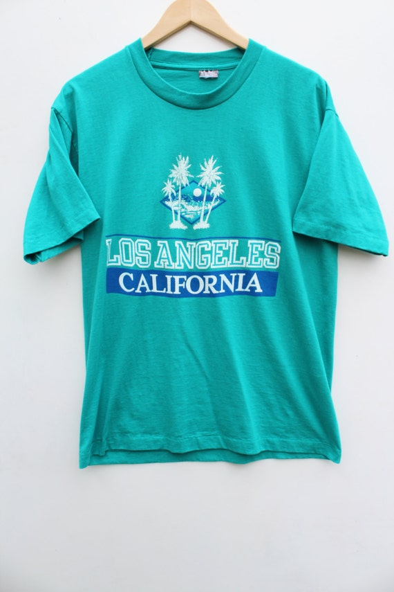 90s Tourist Tee Large L Los Angeles California T Shirt