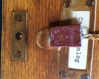 Jane Austen Persuasion Mini Book Pendant