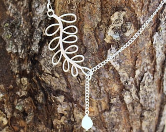Cultured Pearl Lariat Necklace