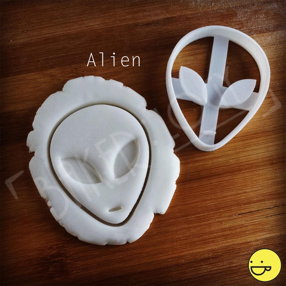 Alien And Ufo Cookie Cutters Biscuit Dough Cutter