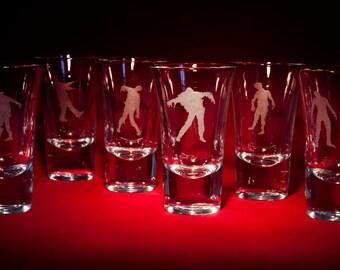 Zombie Shot glasses.