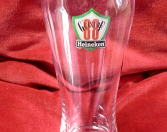 "Vintage Heineken ""Glass of 88"" One-and-a-Half Pint Beer / Lager Glass"