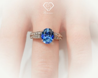 Neptune topaz solitaire ring. Silver ring. Topaz ring. Neptune topaz ring. Topaz solitaire ring. Engagement ring. Topaz engagement ring