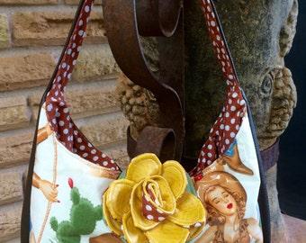 Yellow Rose of Texas Handbag