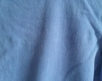 Sky Blue Cuffed Jeans