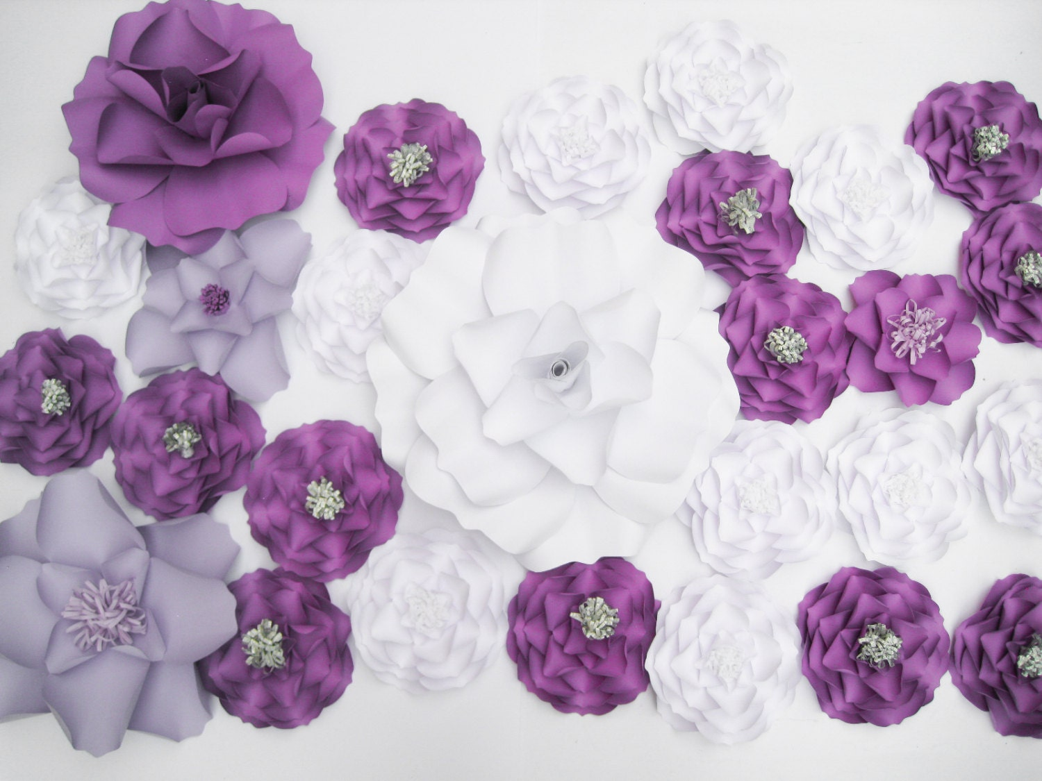 Purple flower backdrop dessert table decor wall paper zoom amipublicfo Image collections
