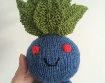 Bulbasaur knitting pattern pokemon pattern knit knitted