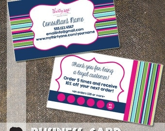 Thirty One Business Card