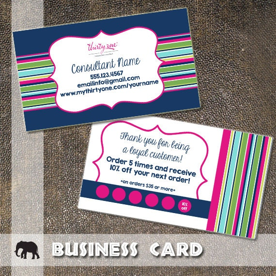 Thirty e Business Card