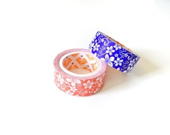 Floral Washi Tapes • Decorative Tape