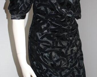 Chic Dress 80s designed by Franck Et Fils