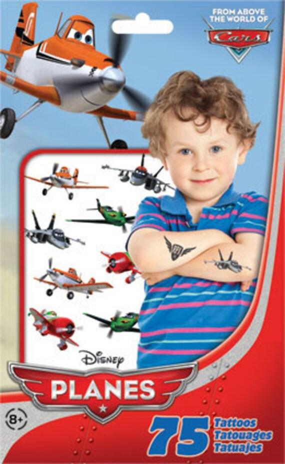 Disney planes temporary tattoos for Disney temporary tattoos