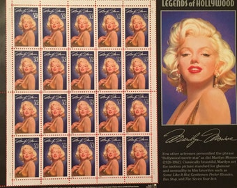 Marilyn Monroe 32 cent Postage Stamps
