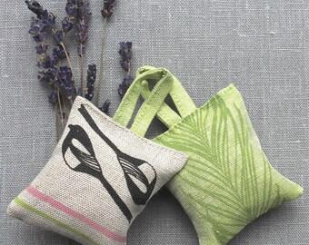 2 x Linen Lavender Sachets
