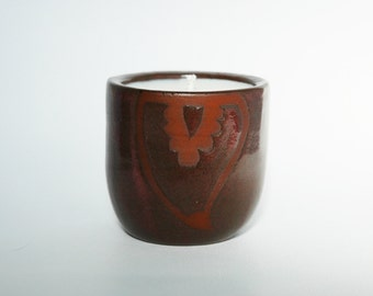 A Mug With No Handle (Pink) Ceramic Soy Candle
