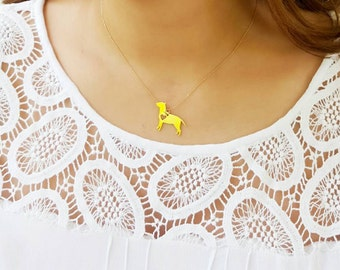 BULL TERRIER NECKLACE !! Bull Terrier lovers, Jewelry, Pendant Necklace, dog lovers, Gold filled.