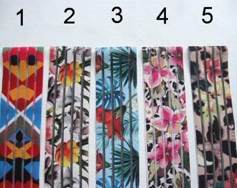 CLEARANCE Elastic belt / Waist cincher Floral Stretch Camouflage flower print belt womens cinch Colorful unusual belt Summer sale