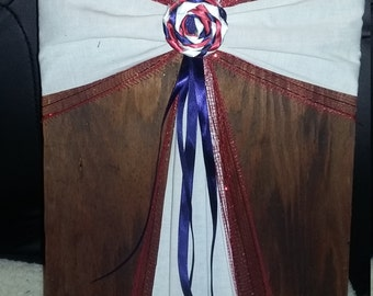Large Fabric Crosses