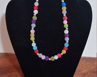 The 'Candy' - Handmade beaded necklace