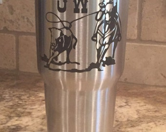 Rodeo Decal/ Calf Roper Decal