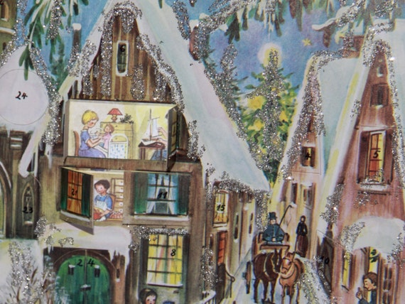 magical, picture advent calendar/
