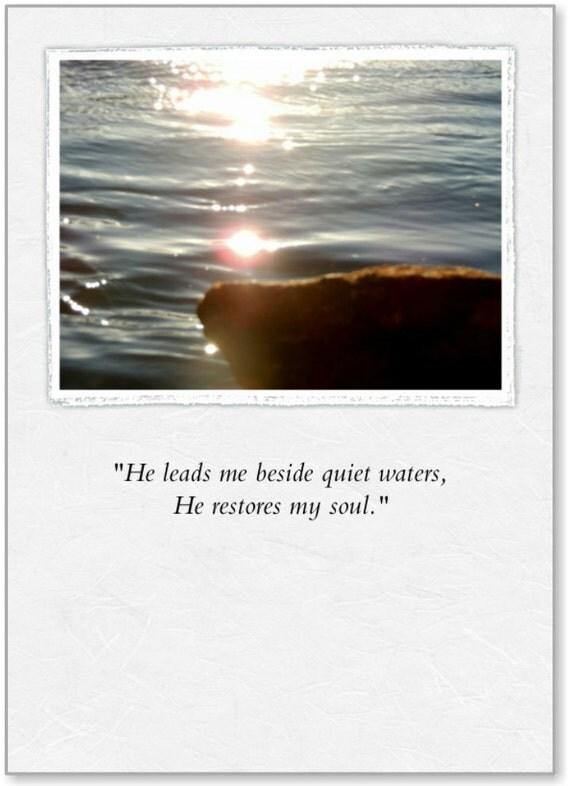 Encouragement (BRG)- Quiet Waters