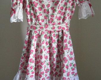 Square Dance Dress, Partners Please, Size 12, Vintage
