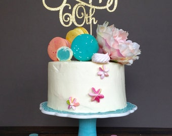 60th birthday party decorations etsy for 60th birthday cake decoration ideas