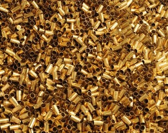 RAW 500 pcs  ONCE Fired BRASS all Caliber in lots of  500pcs 380 auto 9mm 38SPl 40 45ACP 223/556