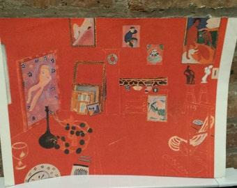 "Henri Matisse print, ""Lo Studio Ross"", 1911"