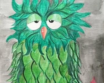 Greenie Owl