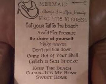 Mermaid linen Canvas