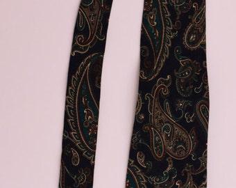 Designer Tie Classic Vintage Nordstrom /Made in ITALY 100% Silk