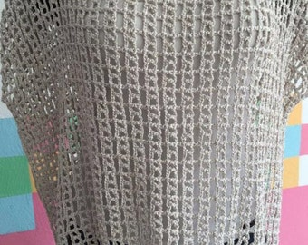 Hand-woven with Spanish wool blouse