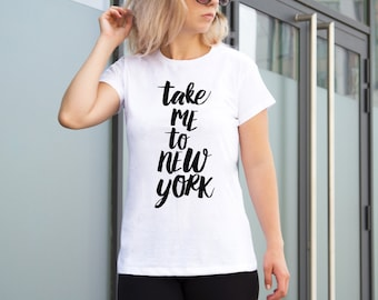 NewYork USA Printed Shirt Aesthetic Clothing Statue Of Liberty  Travel Shirt American Tee Cool Shirt Graphic T Shirt New York T Shirt YP1053