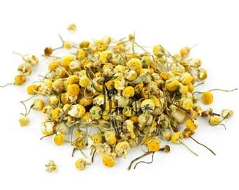 Greek Chamomile Camomile Loose Dried Flowers Herbal Tea - Superior Quality