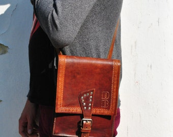 Leather handbag, leather messenger bag men, mens leather bag, messenger bag, leather messenger bag, leather ipad bag, brown leather bag