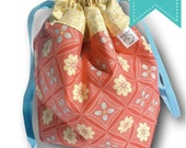 """Daydream - """"One Skein"""" Project Bag for Knitting, Crochet, or Embroidery"""