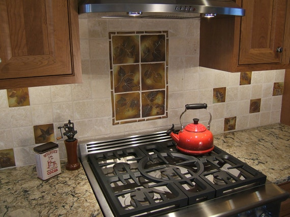 Items Similar To Backsplash Tiles Rustic Cabin Accent