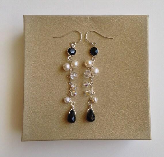 wedding earrings earrings black weddings black