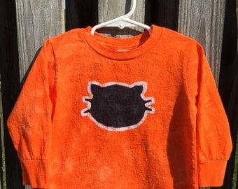 Black Cat Shirt, Halloween Cat Shirt, Kids Halloween Shirt, Kids Black Cat Shirt, Kids Cat Shirt, Orange Cat Shirt, Black Cat Shirt (2T)