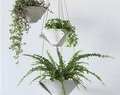 Fold Bowl Hanging Planter