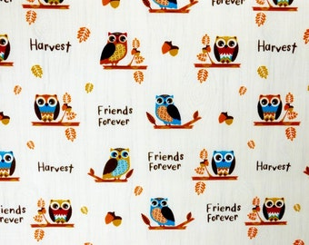 Thanksgiving fabric, Harvest fabric 100% cotton fabric for Quilting and general sewing projects.